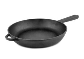 Cast iron skillet with cast handle Ø20cm