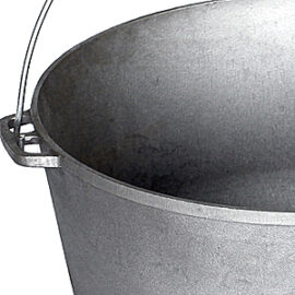 Cast iron cauldrons
