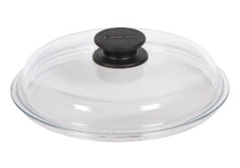 High dome round glass lid Ø28cm