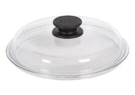 Стъклен капак кръгъл висок Ø20см