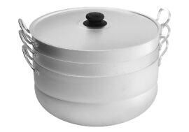 Уред за готвене на пара (мантоварка) 13л с 2 диска