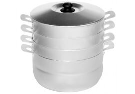 Уред за готвене на пара (мантоварка) 6л с 3 диска